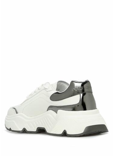 Dolce&Gabbana Dolce&Gabbana Daymaster    Kadın Deri Sneaker 101557152 Beyaz